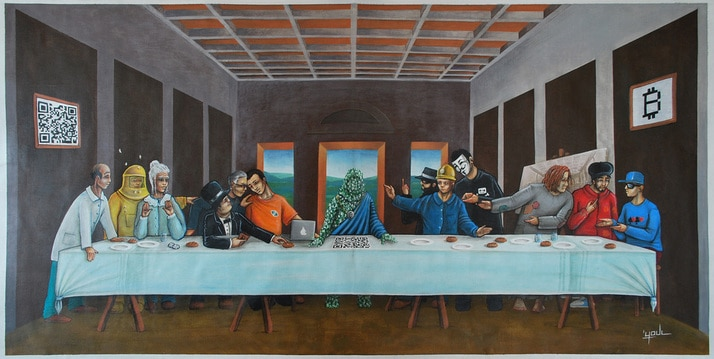 last bitcoin supper